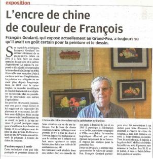 Exposition - François GOULARD