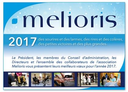 Les voeux 2017 de l'association Melioris